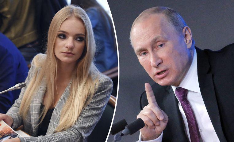 Elizaveta Peskova (links) is de dochter van de woordvoerder van Russisch president Vladimir Poetin.