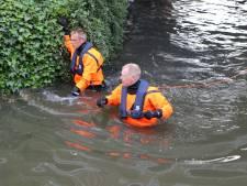 Paniek na aantreffen lege rubberboot in Wateringse sloot