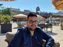 GroenLinks-raadslid Karim El Gebaly.