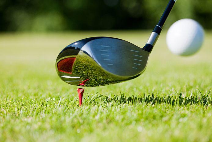 Golfclub ter illustratie, dit is niet de club die in het bericht voorkomt.