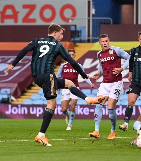 Bamford leidt Leeds met hattrick naar zege op nog ongeslagen Aston Villa