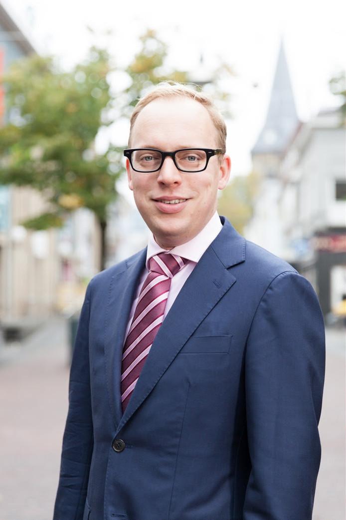 Eelco Eerenberg neemt het stokje over van Jan Bron, wethouder in Hengelo