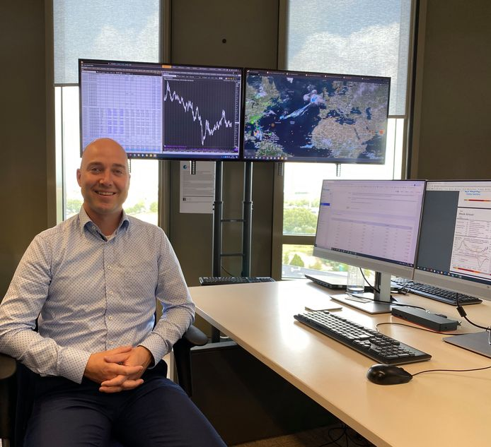 Chris Guth is market desk analist bij ENGIE.