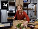 Salade met warme geitenkaas
