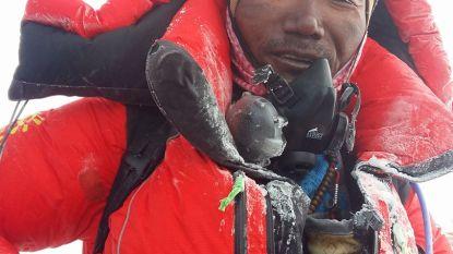 Sherpa breekt record 22 keer op top van Mount Everest