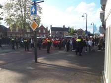 Twaalf mensen aangehouden bij afgebroken Pegida-demonstratie in Eindhoven, vier agenten lichtgewond