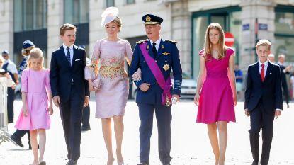 Koninklijke familie straks op post bij nationale feestdag