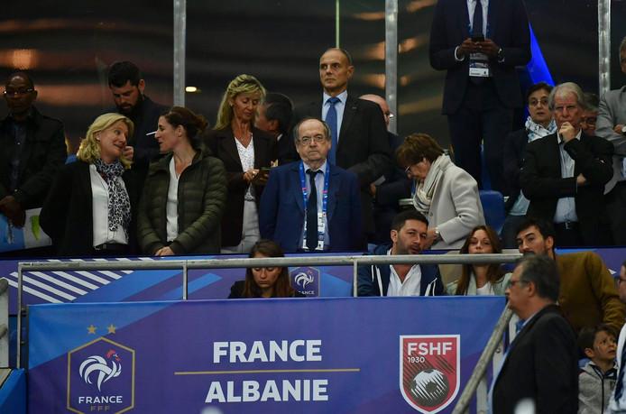 Le Graet  Noel FOOTBALL : Eliminatoires Euro  2020 UEFA  France vs Albanie 7/09/2019 © PanoramiC ! only BELGIUM !