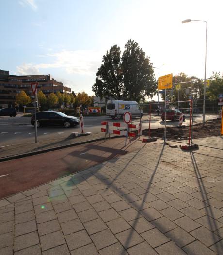 Gevaar bij turborotonde Burgemeester Freijterslaan in Roosendaal nog niet geweken