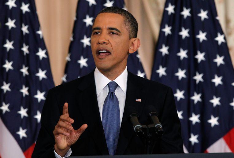 """""""We got him"""" liet Obama aan de wereld weten."""