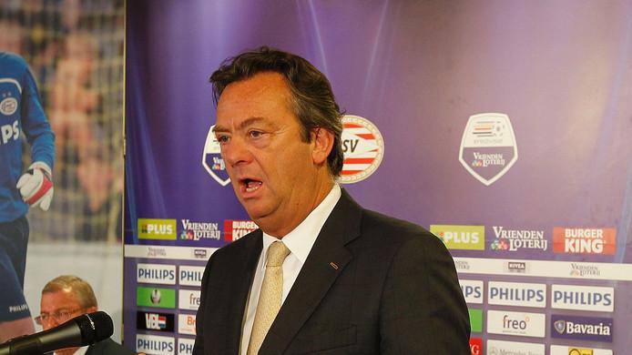 PSV-directeur Tiny Sanders. Foto Ton van de Meulenhof.