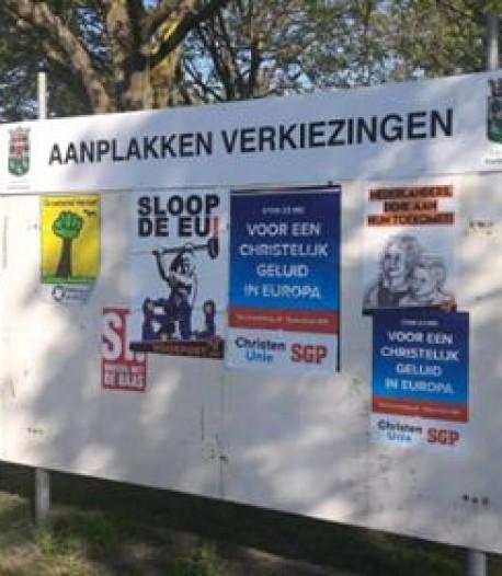 CDA Halderberge: 'Vervang de plakborden door hufterproof Trotters'