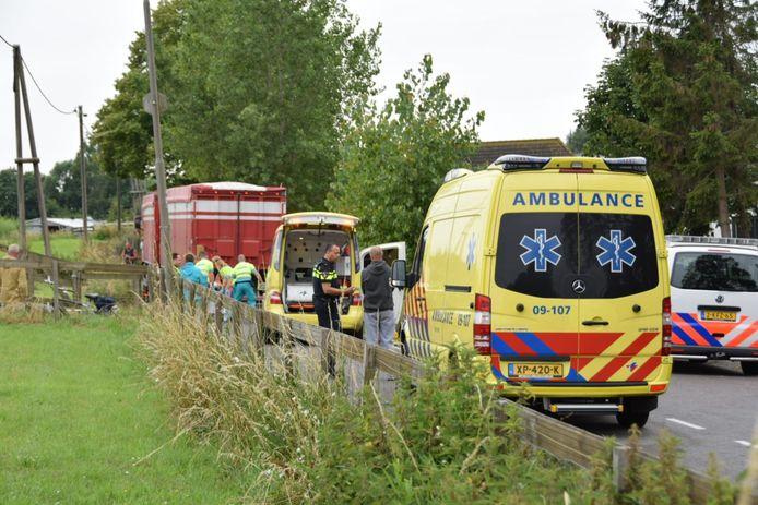 De hulpdiensten waren juli vorig jaar massaal uitgerukt om het slachtoffer na de aanrijding te helpen.