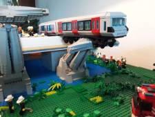 Wereldberoemd metro-ongeluk nagebouwd in Lego: 'Ik wist gelijk: dit ga ik maken'