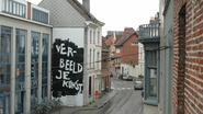 Kunstwerk ruimt plaats voor... blinde muur
