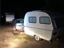 Illegale kampeerders weggestuurd in Molenlanden