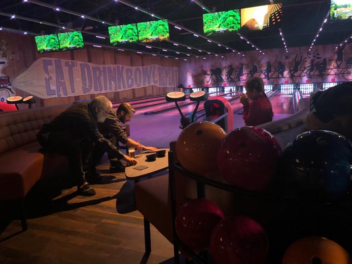 De nieuwe bowling zit boven de Action in Uden.