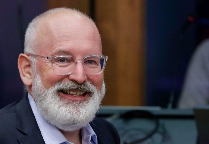 Eerste vicevoorzitter van de Europese Commissie en commissaris voor betere regelgeving, interinstitutionele betrekkingen, rechtsstaat en handvest van de grondrechten Frans Timmermans,