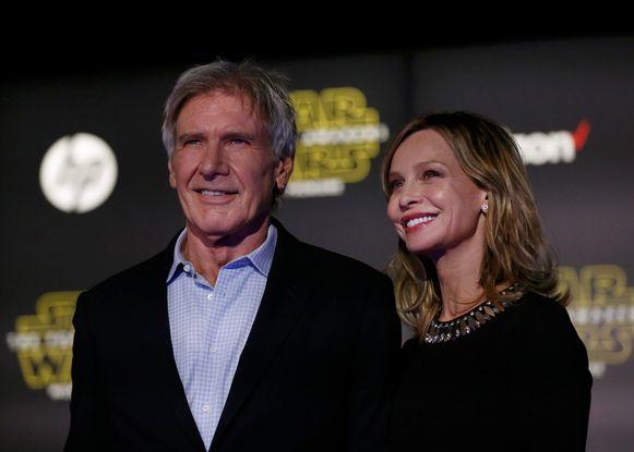 Harrison Ford en zijn echtgenote Calista Flockhart