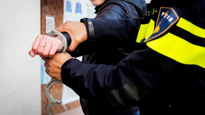 De Amsterdammer begon te schelden tegen de politie