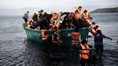 Boot met 61 Syriërs gered voor de kust van Cyprus