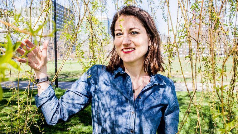 Belle Derks: `Je ziet steeds meer signalen dat het masculiene systeem moet veranderen.' Beeld Aurélie Geurts