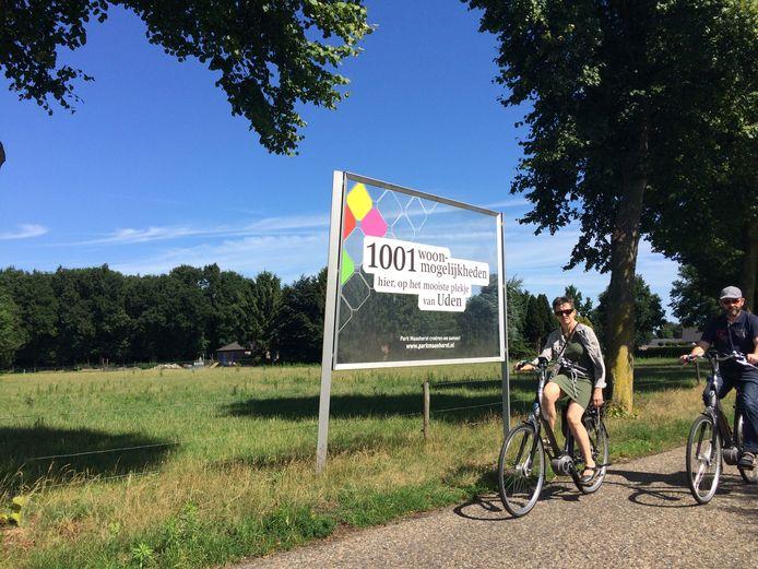 Dit is een van de gebieden van Park Maashorst die volgend jaar bebwouwd gaan worden.