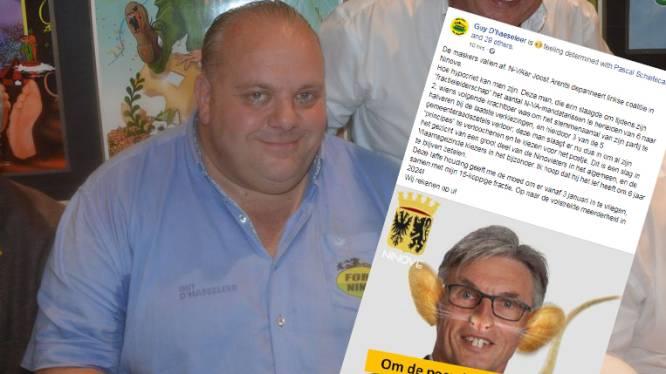 Open Vld, Samen en N-VA'er stellen nieuwe coalitie voor in Ninove. Forza Ninove-kopstuk D'haeseleer haalt zwaar uit