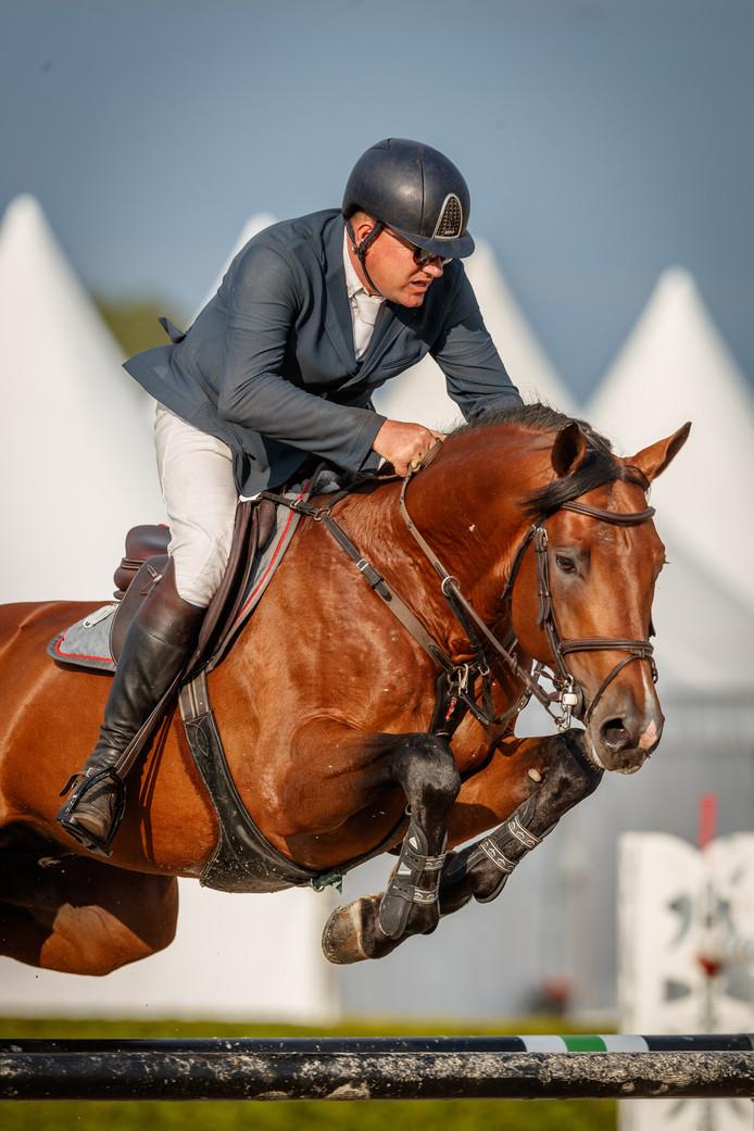 Albert Zoer was in Veeningen goed voor winst in de Grote Prijs.