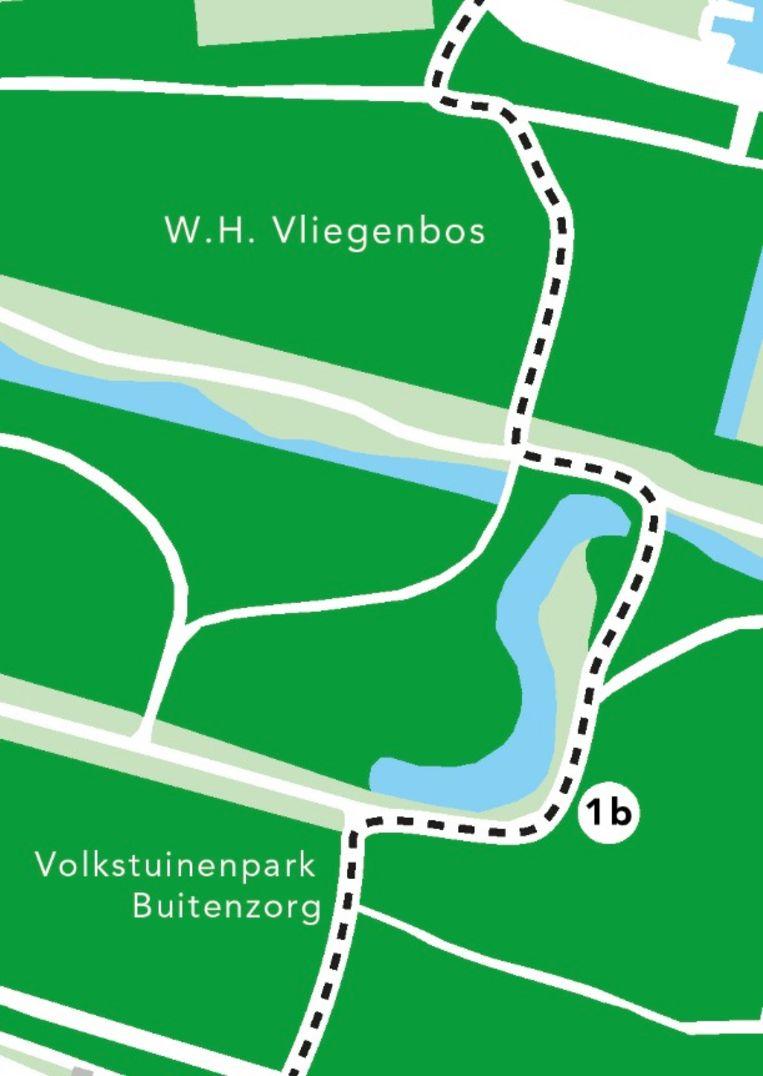 De nieuwe route. Beeld Gemeente Amsterdam