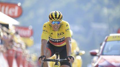 Van Avermaet imponeert in eerste Alpenrit Tour en zit steviger in het geel, Alaphilippe primus in Le Grand-Bornand