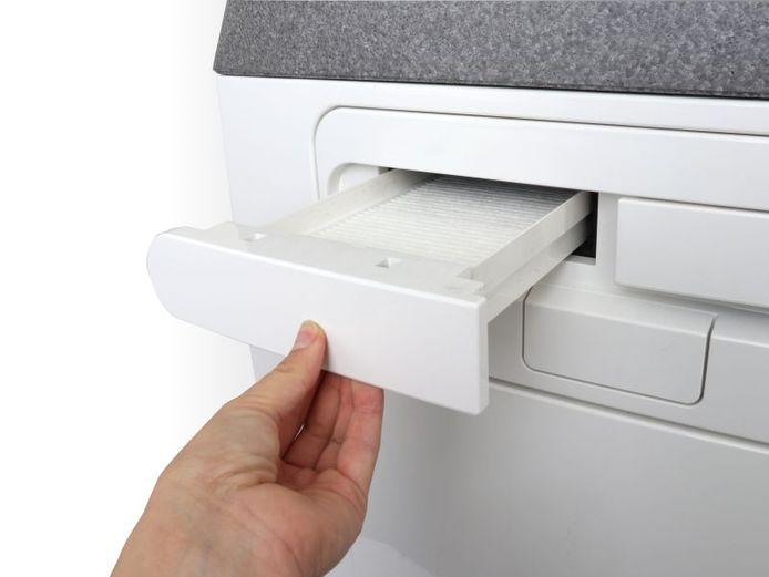 Les filtres encrassés ne sont pas un foyer d'infection, mais ils réduisent le débit d'air amené. Surtout, ne les remplacez pas plus fréquemment.