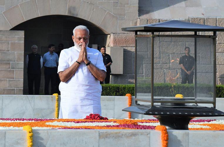 De 68-jarige Narendra Modi heeft vandaag de eed afgelegd als eerste minister van India.