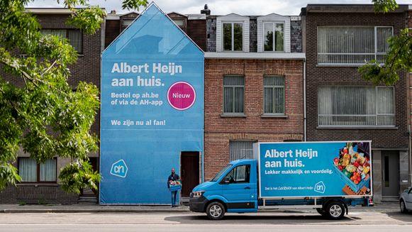 Albert Heijn start met thuisleveringen.