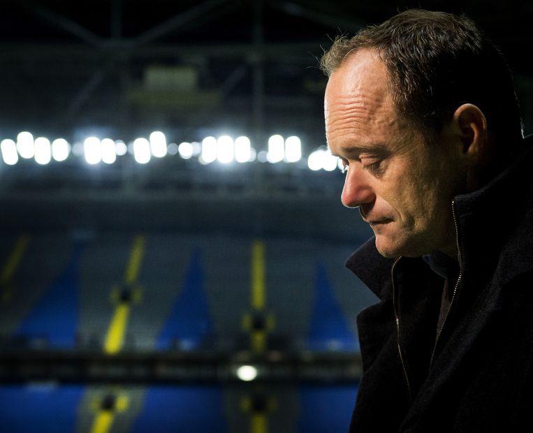KNVB-voorzitter Bert van Oostveen Beeld anp