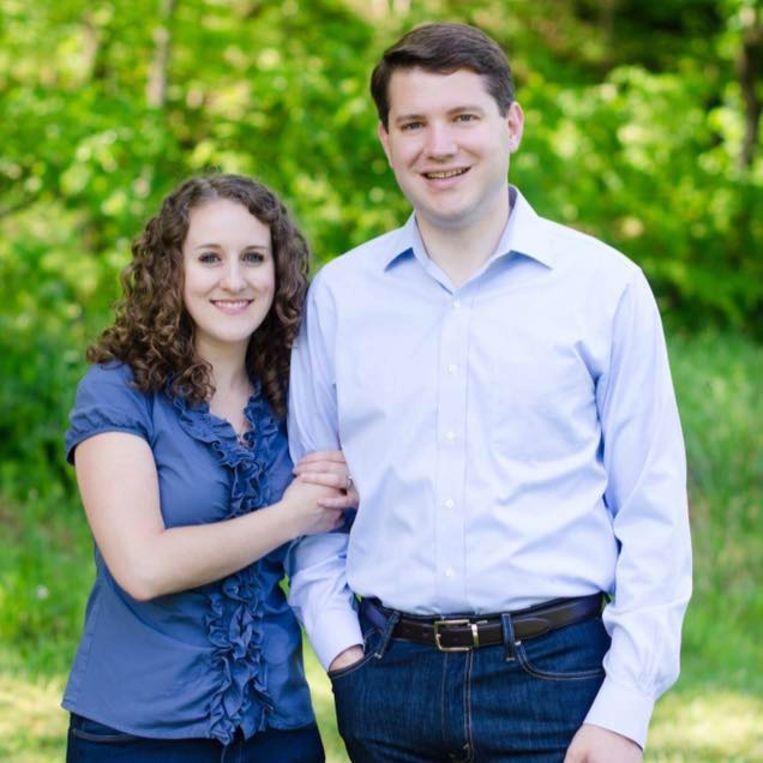 Goodman met zijn echtgenote.