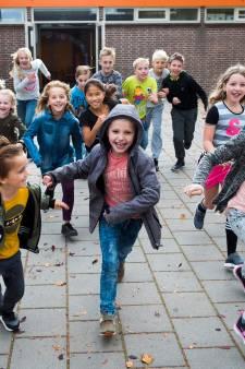Basisschoolleerlingen uit Mijdrecht trainen hard voor Zilveren Turfloop