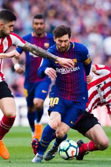 FC Barcelona boekt eenvoudige zege op Athletic Bilbao