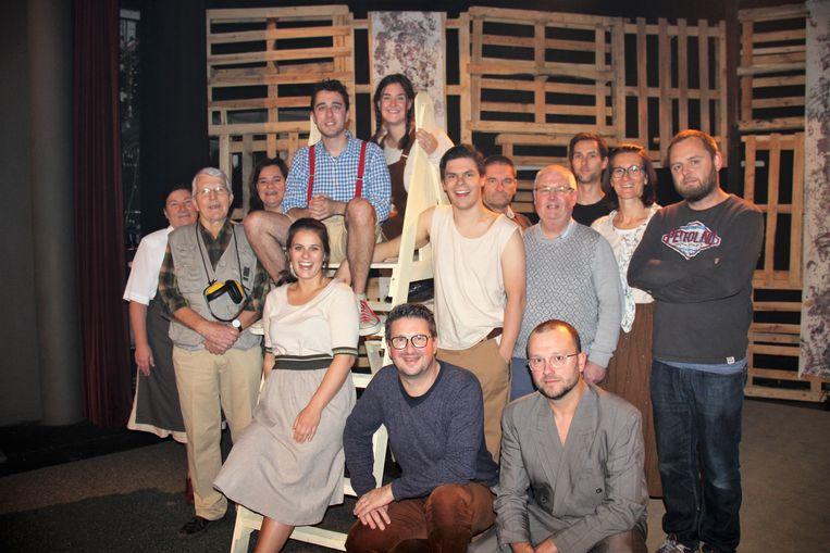 Theater VTV is klaar om het publiek te ontvangen.