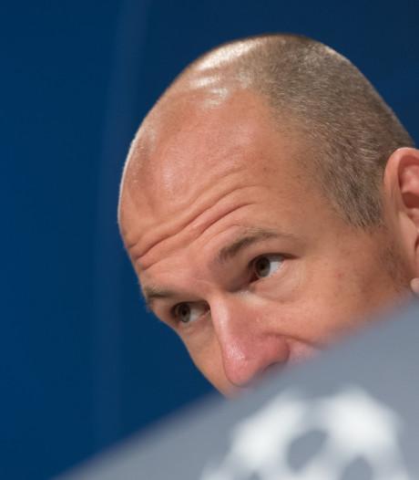 Arjen Robben heeft zege Oranje op Duitsland niet gezien