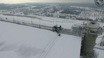 Drie mannen zetten hun leven op het spel om hond te redden die vastzit op de nucleaire reactor in Tsjernobyl