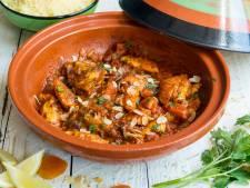 Wat Eten We Vandaag: Marokkaanse tajine met kip en abrikozen