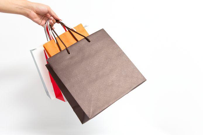 Illustratiebeeld winkelen
