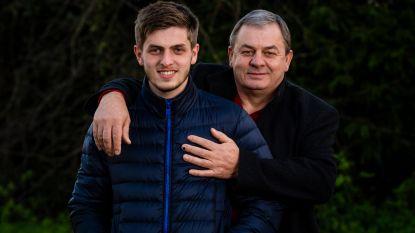"""Papa Merab voor het eerst op bezoek bij Chakvetadze: """"Ik weende bij zijn applausvervanging"""""""