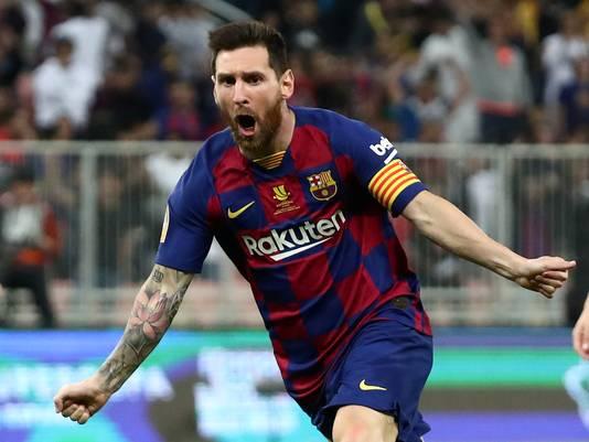 Lionel Messi blijft toch bij FC Barcelona.