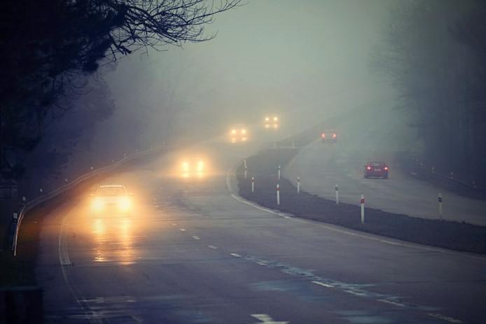 Het KNMI waarschuwt voor dichte mist.