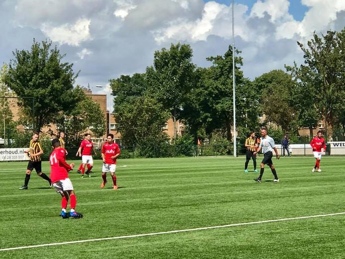 Foto van een willekeurige wedstrijd van SV Nieuw Utrecht.
