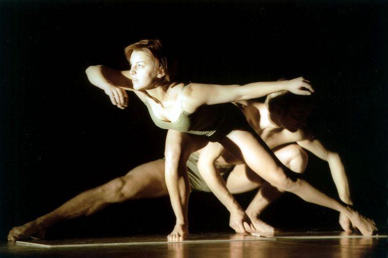 De dansvoorstelling For Heaven's Sake van Galili Dance, de dansgroep van Itzik Galili. Foto GPD/Karel Zwaneveld Beeld