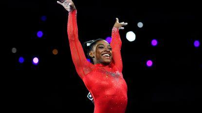 Biles evenaart record met 23ste medaille