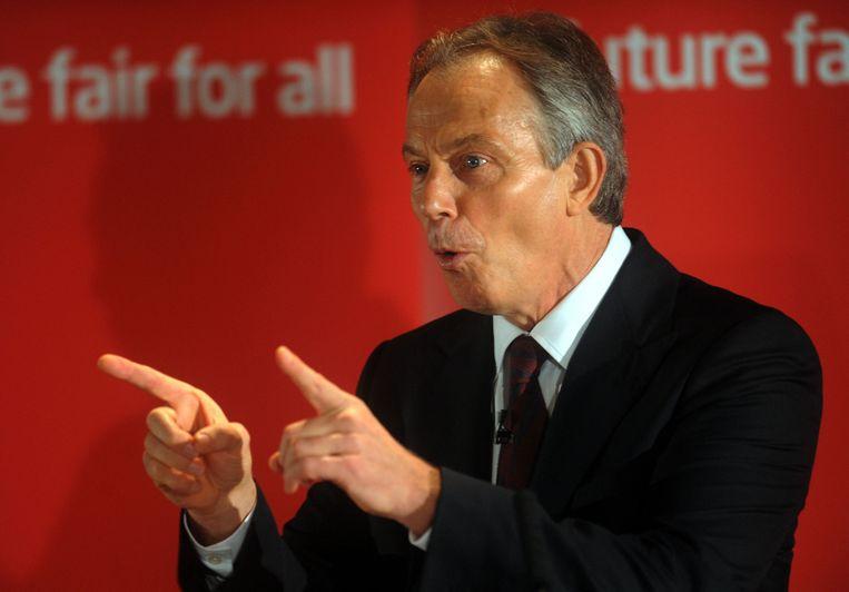 Na zijn vertrek uit de politiek begon Blair een lucratief adviesbureau, dat hem al controversiële klussen in landen als Abu Dhabi en Kazachstan opleverde. Beeld afp